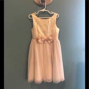 Girls special occasion party dress